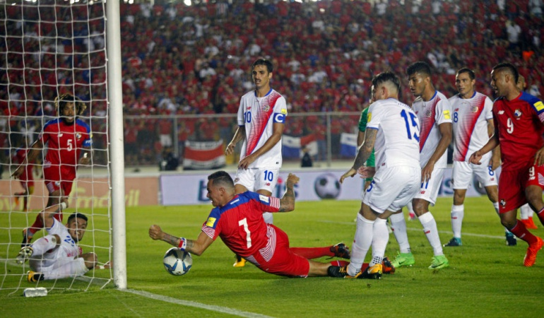 Gol ilegal de Panamá Getty Images Caracol Radio Colombia