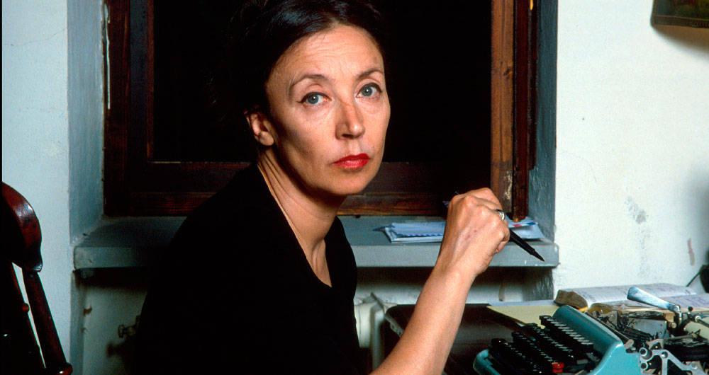 Oriana Fallaci. Foto agencia AFP revista Semana.com