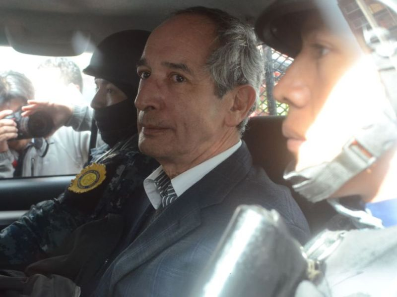 Expresidente Alvaro Colom Guatemala Foto elperiodico.com.gt.