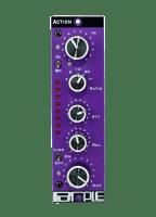 Purple Audio Action Front Panel View