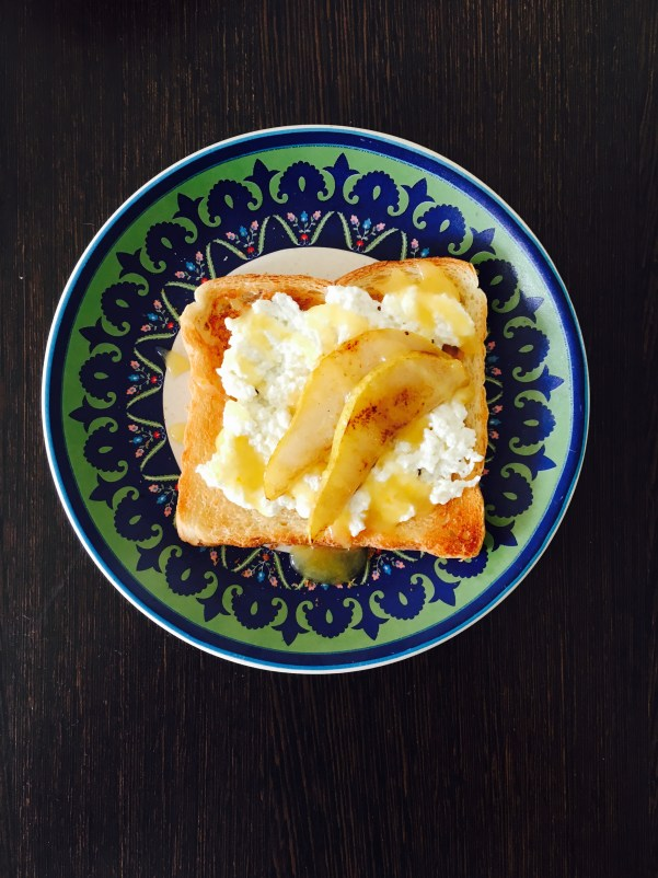 ricotta on toast