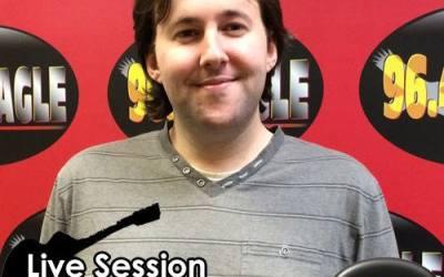 Matt Stoolman to perform live on Eagle Radio!