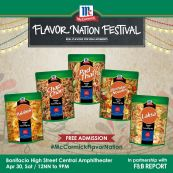 McCormick Flavor Nation Festival - McCormick Noodle and Seasong Mix