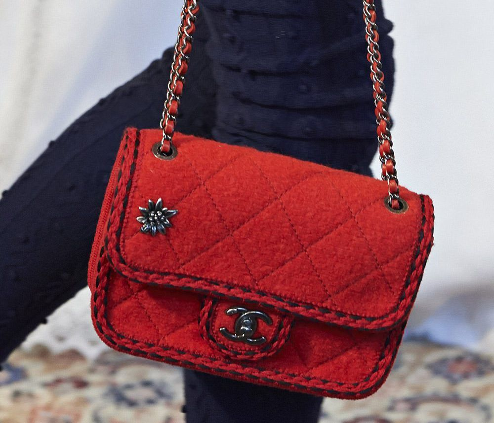 chanel inspired bags. chanel fall 2015 portrays the \u201creincarnation\u201d of coco\u0027s history in austria. reincarnated is modern version her iconic jacket inspired by menswear. bags