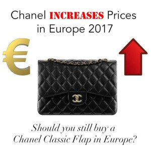 chanelclassicflapincrease