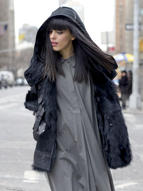 Abito lungo in inverno: Come l'ho indossato durante la NYFW