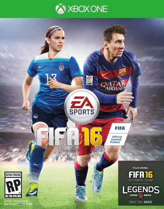 FIFA 16 Alex Morgan Lionel Messi