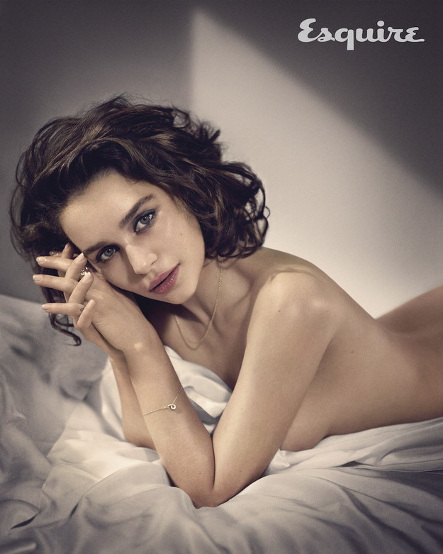 "Emilia Clarke is Named 2015 ""Sexiest Woman Alive"" by Esquire"