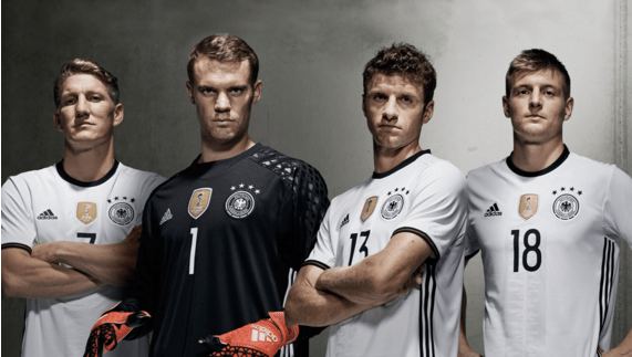 Adidas Unveil Euro 2016 Kits for Germany, Spain, Belgium and more