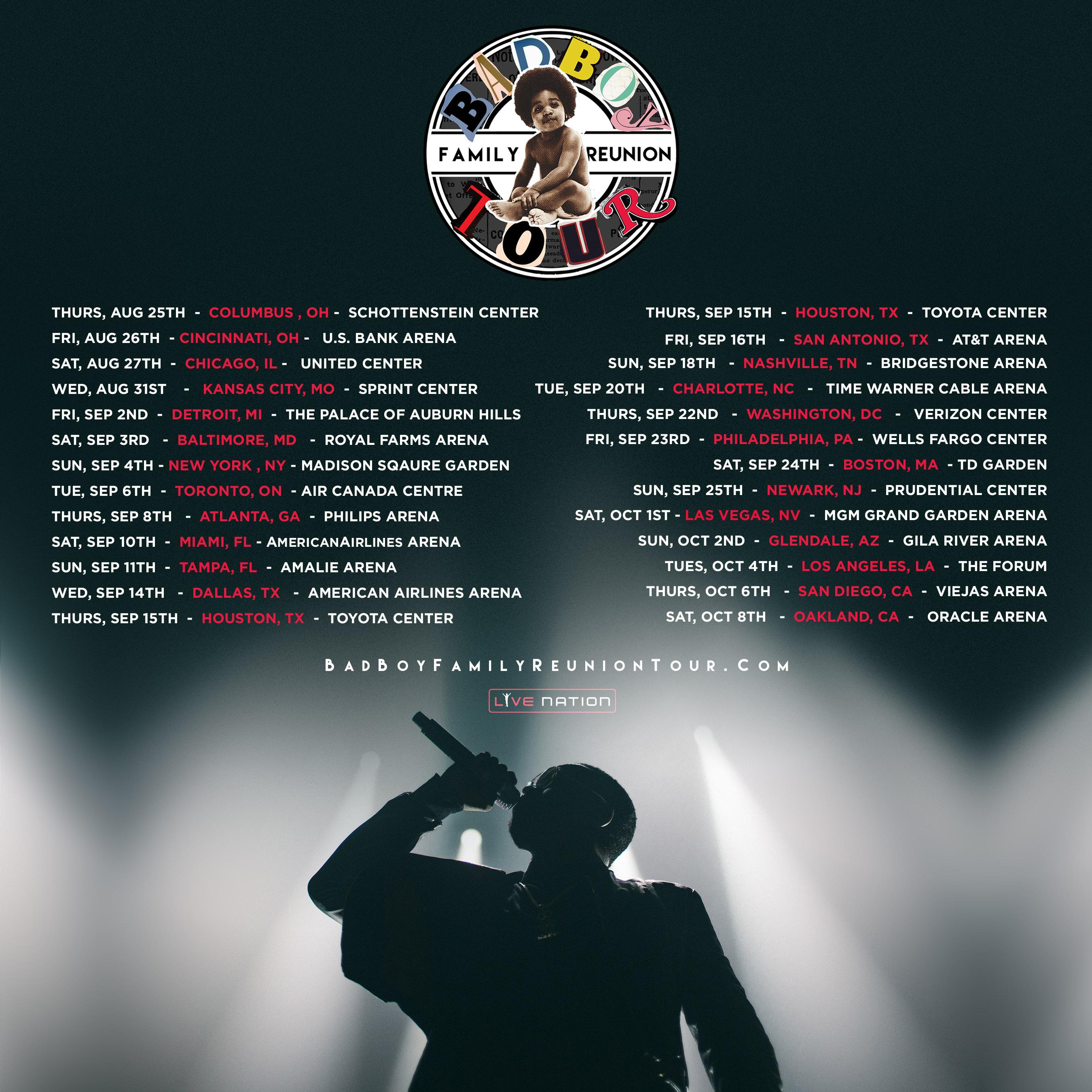 Mario Winans Badboy Reunion Tour