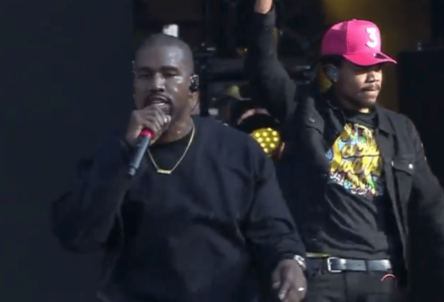 Video: Kanye West Gives Surprise Performance at Chance The Rapper's Magnificent Coloring Day Fest