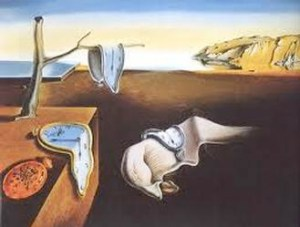 Dali's famous painting