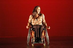 Sins Invalid performer, Maria Palacios.  Photo by Richard Downing.