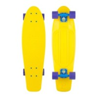 Penny Nickel Skateboard Yellow & Purple – 27″