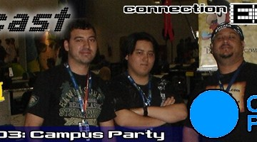 Lagcast EXTRA - DROPS Campus Party 03 (Banner)