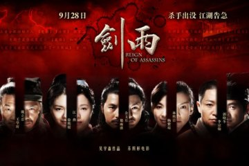 reign of assassins poster hz