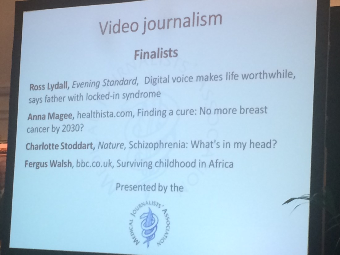 PVM Content's Anna Magee is a finalist in the MJA Video Journalism awards