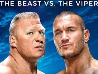 Brock Lesnar vs. Randy Orton (c) WWE.com