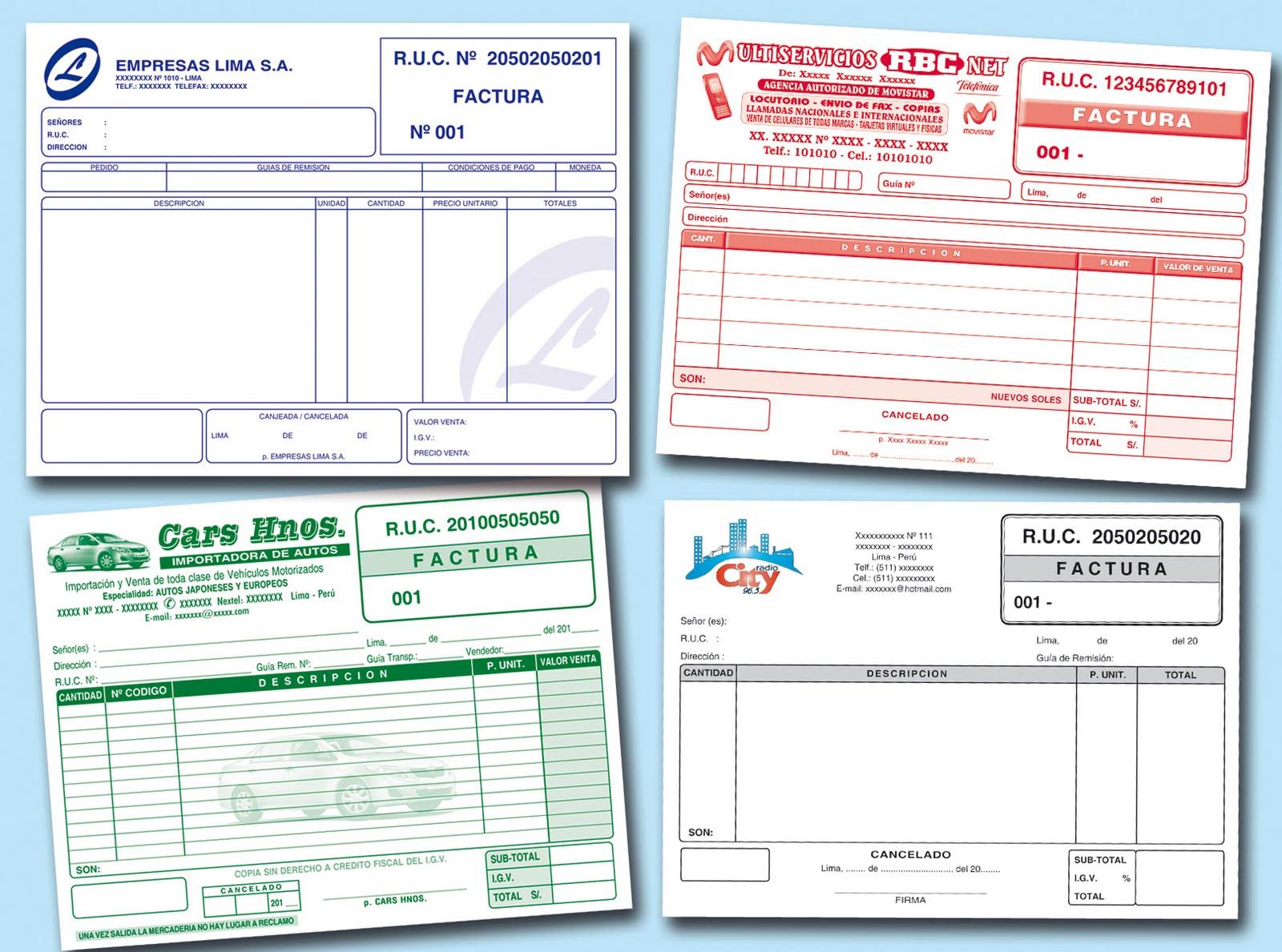 Modelo de facturas como hacer una factura - Caja madrid oficina internet ...