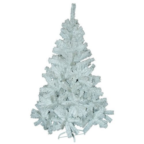 WHITE FERN CHRISTMAS TREE WITH STAND. 6ft