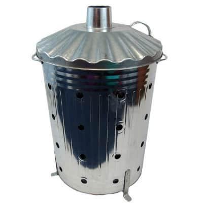 fast burner incinerator, slightly more expensive that some other cheaper models but this product is fully made from galvanised steel and is uk made so it made to the highest quality.