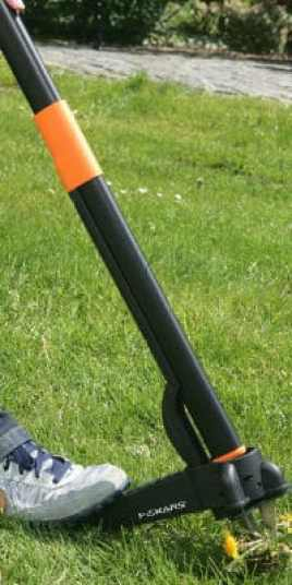 Fiskars weed puller REVIEW