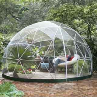 Garden igloo pavilion greenhouse garden room