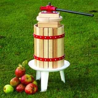 Fruit press for making cider or fruit juice