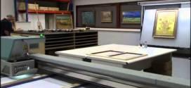 فيديو : تقنية حديثة لنسخ اللوحات الزيتية بدقه عالية