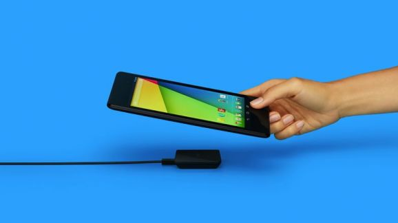 Wireless magnet charging rectangle of power