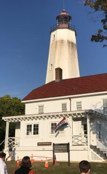 The lighthouse house houses the museum.