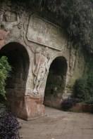Une grotte au temple de Leshan