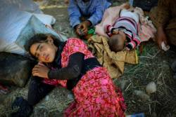 How liberty dies Yazidi children
