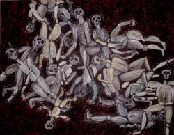 Babi-Yar original art by Esti Mayer