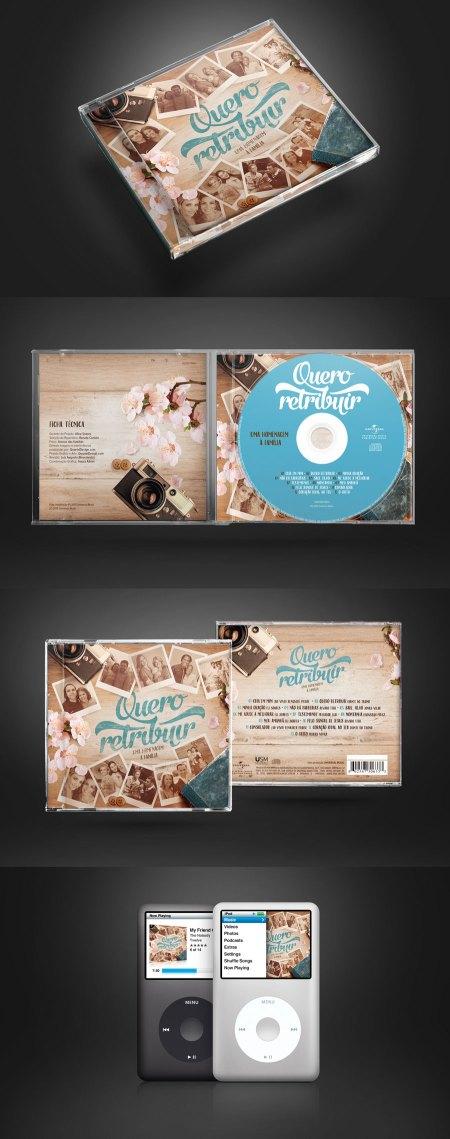 CD Quero Retribuir – Universal Music