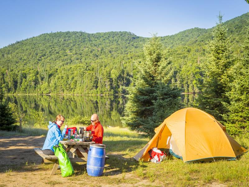 Camping Parc National Du Mont Tremblant De La Diable   Campgrounds     Camping  secteur la Diable