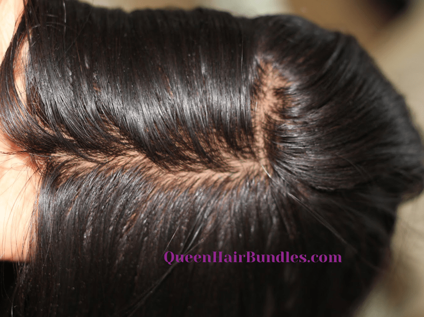 Silk Base Closures Queen Hair Bundles
