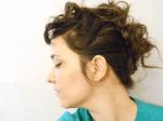 TUTORIAL: Turned Up Tweed Collar Hair