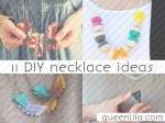 11 DIY necklace ideas