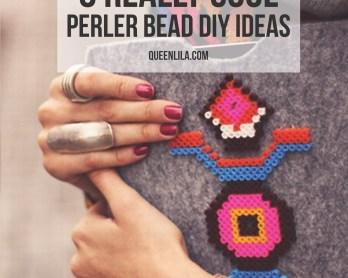 8 Really Cool Perler Bead DIY Ideas on queenlila.com. Click through for the roundup!