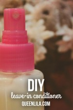 TUTORIAL: DIY Leave-in Conditioner