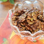 Maple Glazed Pumpkin Seed Clusters