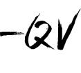 QV signature no bolt