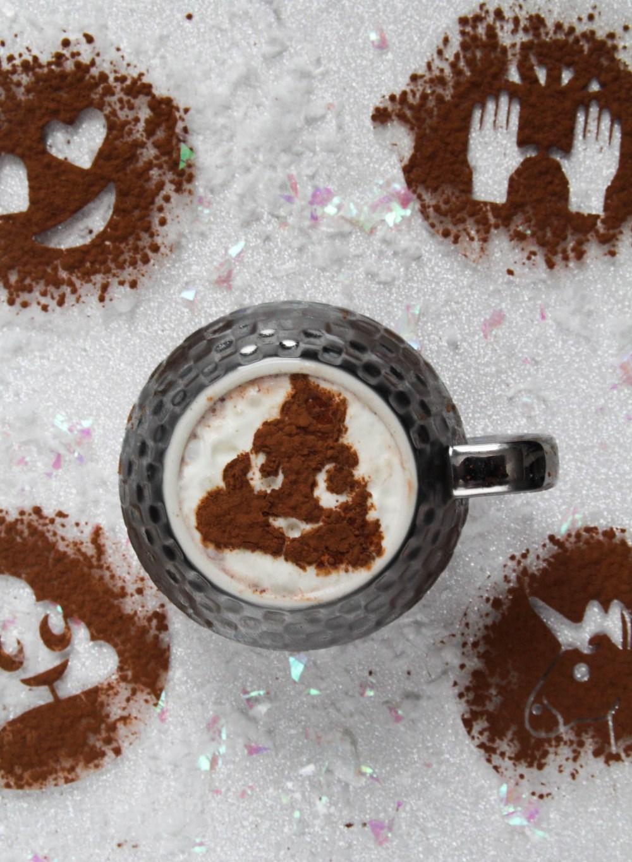 poo cocoa stencil 3