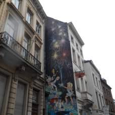 Peinture murale (rue du Chêne)