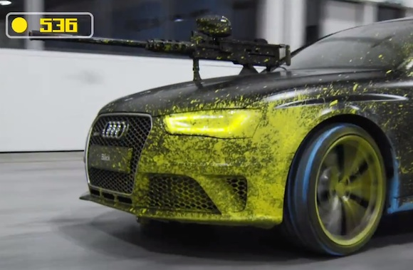 Paintball de Audi RS 4