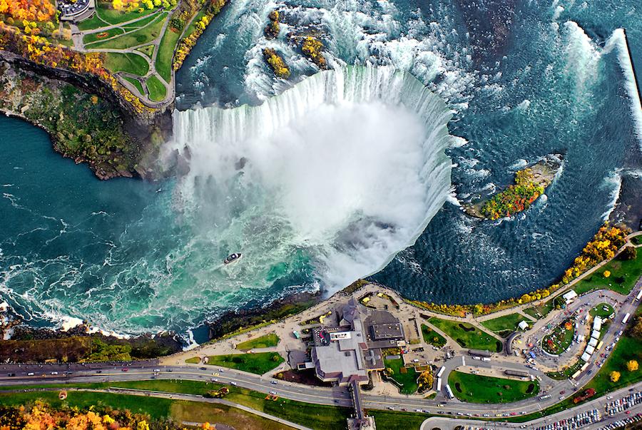 Las cataratas del Niágara, en Canadá