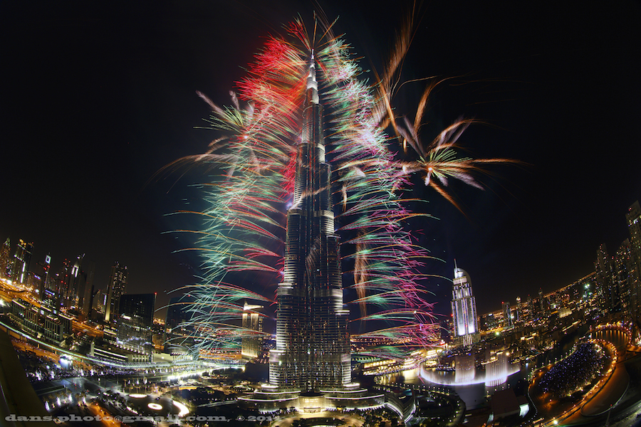 Dubai 2014: Fuegos artificiales