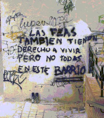Las feas - Graffiti