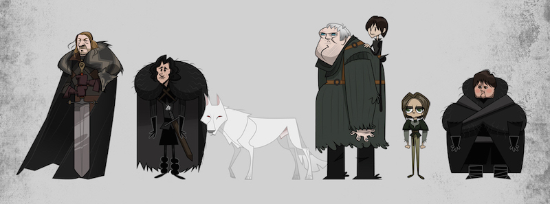 Game of Thrones por Franco Spagnolo